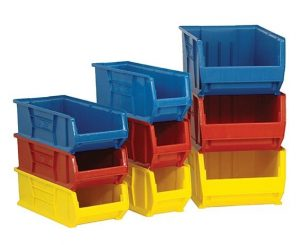 Plastic Stacking Bins