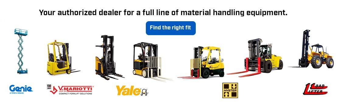 New Material Handling Equipment